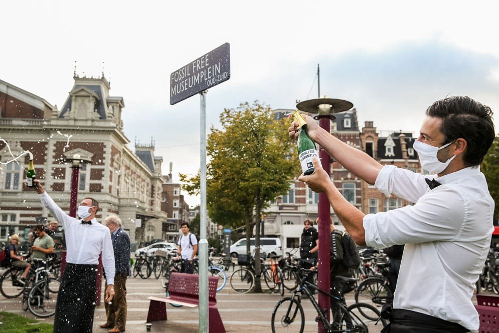 Fossil Free Museumplein
